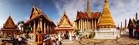 "Grand Palace, Bangkok, Thailand by Panoramic Images - 27"" x 9"", FulcrumGallery.com brand"