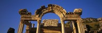 """Turkey, Ephesus, temple ruins by Panoramic Images - 27"""" x 9"""""""