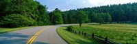 """Blue Ridge Parkway NC by Panoramic Images - 27"""" x 9"""""""