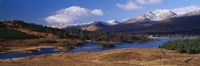"""Lake on mountainside, Loch Tulla, Rannoch Moor, Argyll, Scotland by Panoramic Images - 27"""" x 9"""""""