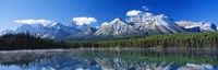 "Herbert Lake Banff National Park Canada by Panoramic Images - 27"" x 9"""