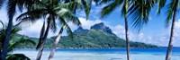 """Bora Bora, Tahiti, Polynesia by Panoramic Images - 27"""" x 9"""""""