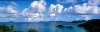"""Trunk Bay St John US Virgin Islands by Panoramic Images - 27"""" x 9"""""""