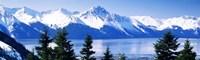 "Turnagain Arm Girdwood AK USA by Panoramic Images - 27"" x 9"""
