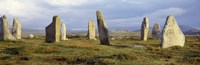 """Callanish Stones, Isle Of Lewis, Outer Hebrides, Scotland, United Kingdom by Panoramic Images - 27"""" x 9"""""""