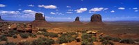 "Monument Valley UT \ AZ by Panoramic Images - 27"" x 9"""