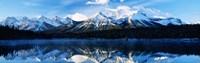 """Herbert Lake, Banff National Park, Alberta, Canada by Panoramic Images - 27"""" x 9"""""""