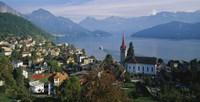 VillageWeggis & Lake Vierwaldstattersee Switzerland