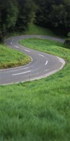 """Switzerland, road by Panoramic Images - 9"""" x 27"""""""