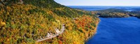 Mount Jordan Pond, Acadia National Park, Maine, USA Fine Art Print