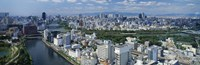 Neya River Osaka Japan