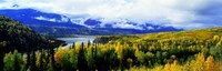 """Panoramic View Of A Landscape, Yukon River, Alaska, USA, by Panoramic Images - 27"""" x 9"""", FulcrumGallery.com brand"""