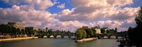 France, Paris, Seine River Fine Art Print