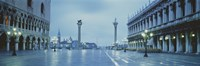 "San Marco Square Veneto Venice Italy by Panoramic Images - 27"" x 9"""