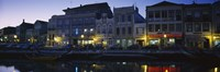 """Buildings at the waterfront, Costa De Prata, Aveiro, Portugal by Panoramic Images - 27"""" x 9"""""""