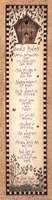 """God's Rules by Linda Spivey - 8"""" x 30"""" - $16.49"""