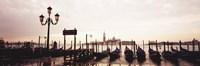 "San Giorgio Venice Italy by Panoramic Images - 27"" x 9"""