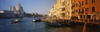 "Italy, Venice, Santa Maria della Salute, Grand Canal by Panoramic Images - 27"" x 9"", FulcrumGallery.com brand"