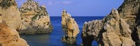 """Rock formations in the sea, Algarve, Lagos, Portugal by Panoramic Images - 27"""" x 9"""" - $28.99"""