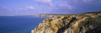 """Rock formations at a seaside, Algarve, Lagos, Portugal by Panoramic Images - 27"""" x 9"""""""
