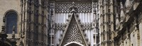 """Close-up of a cathedral, Seville Cathedral, Seville, Spain by Panoramic Images - 27"""" x 9"""""""