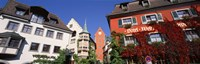 """Germany, Meersburg, Lake Constance, Low angle view of the buildings by Panoramic Images - 27"""" x 9"""", FulcrumGallery.com brand"""