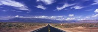 Road Zion National Park Utah USA