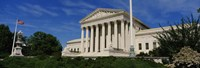 US Supreme Court Building, Washington DC, District Of Columbia, USA Fine Art Print