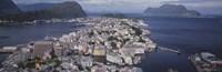 Cityscape Alesund Norway