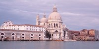 """Santa Maria della Salute Grand Canal Venice Italy by Panoramic Images - 27"""" x 9"""""""
