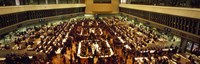 """Stock Exchange Tokyo Japan by Panoramic Images - 27"""" x 9"""""""