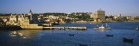 """Buildings at the waterfront, Cascais, Lisbon, Portugal by Panoramic Images - 27"""" x 9"""""""