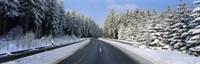 Road Hochwald Germany