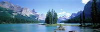 Maligne Lake Near Jasper Alberta Canada