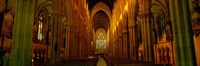 St. Mary's Cathedral, Sydney, New South Wales, United Kingdom, Australia Fine Art Print