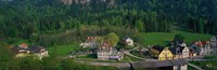 """Village Of Hohen-Schwangau in summer, Bavaria, Germany by Panoramic Images - 27"""" x 9"""""""