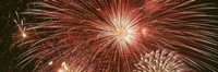 "USA, Wyoming, Jackson, fireworks by Panoramic Images - 27"" x 9"", FulcrumGallery.com brand"