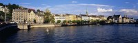 Switzerland, Zurich, Limmat River Fine Art Print