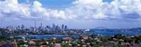 Cityscape Harbor Sydney Australia