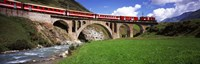 "Railroad Bridge, Andermatt, Switzerland by Panoramic Images - 27"" x 9"""
