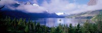 "St Mary Lake, Glacier National Park, Montana, USA by Panoramic Images - 27"" x 9"""