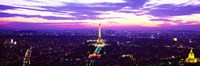 """France, Paris, Eiffel Tower by Panoramic Images - 27"""" x 9"""""""