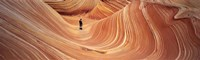 "The Wave Coyote Buttes Pariah Canyon AZ/UT USA by Panoramic Images - 27"" x 9"", FulcrumGallery.com brand"