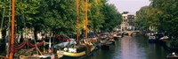 View of a Canal, Netherlands, Amsterdam Fine Art Print