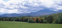 Clouds over a grassland, Mt Mansfield, Vermont, USA Fine Art Print