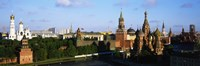 """Russia, Moscow, Red Square by Panoramic Images - 27"""" x 9"""" - $28.99"""