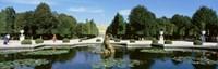 Schonbrunn Palace Grounds Vienna Austria