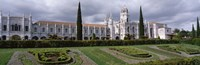 """Portugal, Lisbon, Facade of Jeronimos Monastery by Panoramic Images - 27"""" x 9"""""""
