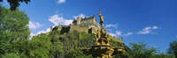 "Low Angle View of Edinburgh Castle, Edinburgh, Scotland by Panoramic Images - 27"" x 9"", FulcrumGallery.com brand"