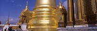 """Golden stupa in a temple, Grand Palace, Bangkok, Thailand by Panoramic Images - 27"""" x 9"""" - $28.99"""